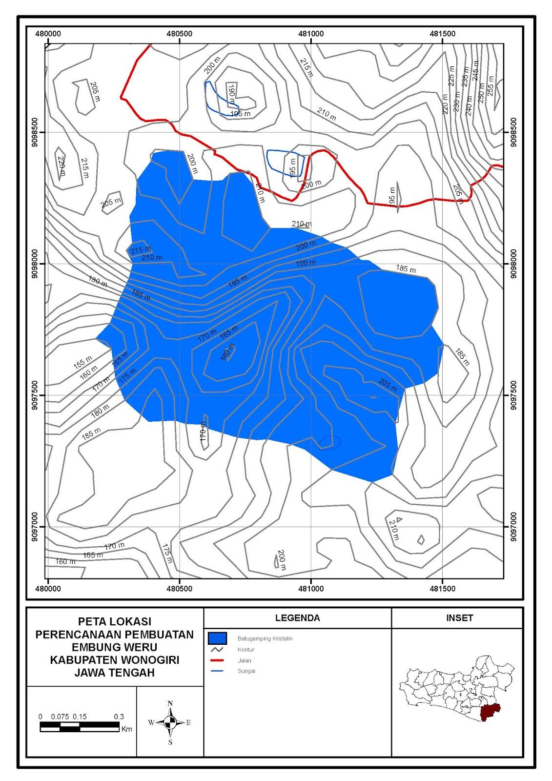 Pemetaan Geologi Untuk Pembangunan Embung, Songbledeg ...