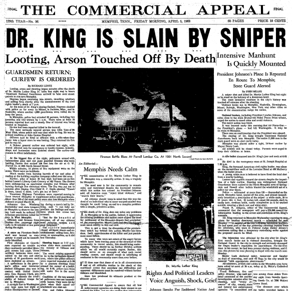 1950s Mlk Jr Civil Rights Movements And Sclc Assassination