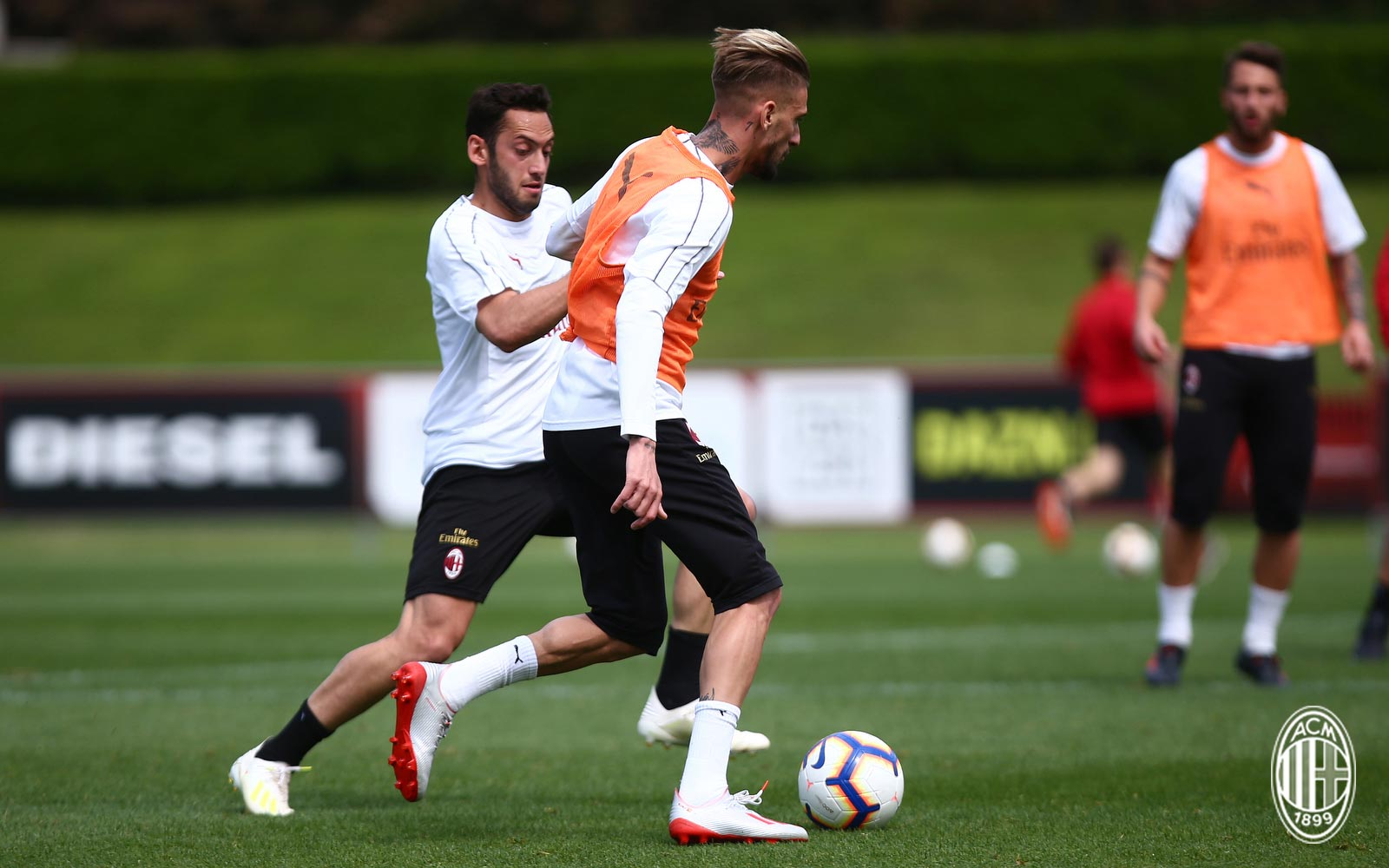 0ecd8f285 ... Samu Castillejo has become the first player to be spotted wearing the  launch colorway of the next-generation Adidas X 19.1 football boots in  training.