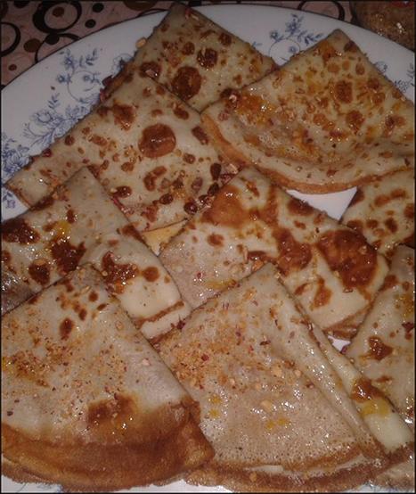 كريب - فطائر البيض - حلويات مغربية