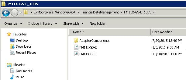 Hyperion Installations and Implementations: FDM - HFM adapter
