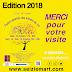 EDITION 2018 : MERCI POUR VOTRE VISITE ET VOTRE SOUTIEN !! A L'ANNEE PROCHAINE...