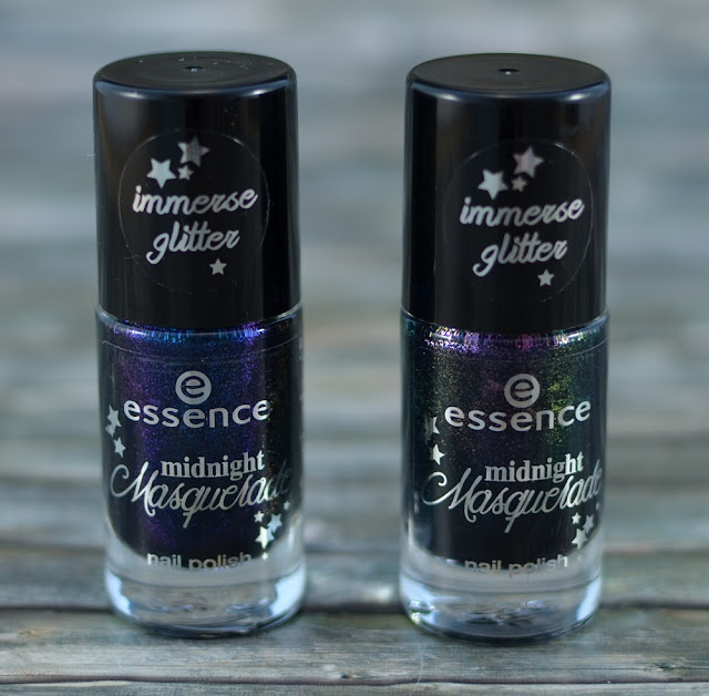 Essence midnight masquerade TE nail polishes