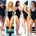 Who rocked it best the swimsuit Kardashian or Jenner girl?