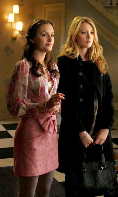 Estilo Blair e Serena