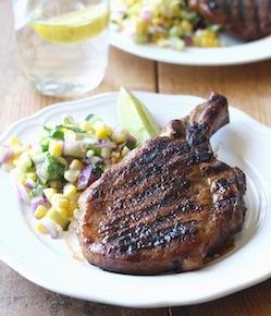 thai grilled pork chop with thai bbq seasoning by seasonwithspice.com