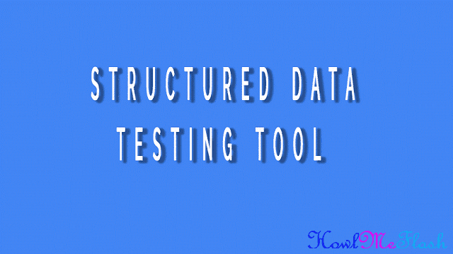 Fix Structured Data Errors
