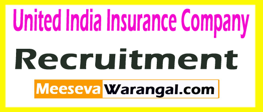 United India Insurance Company UIIC Recruitment 2017