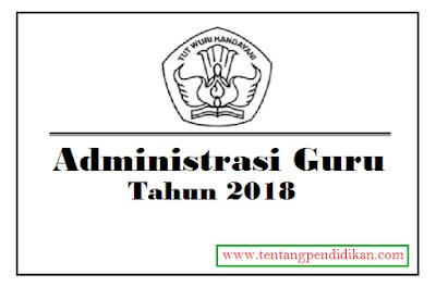 Download Administrasi Guru 2018 Lengkap