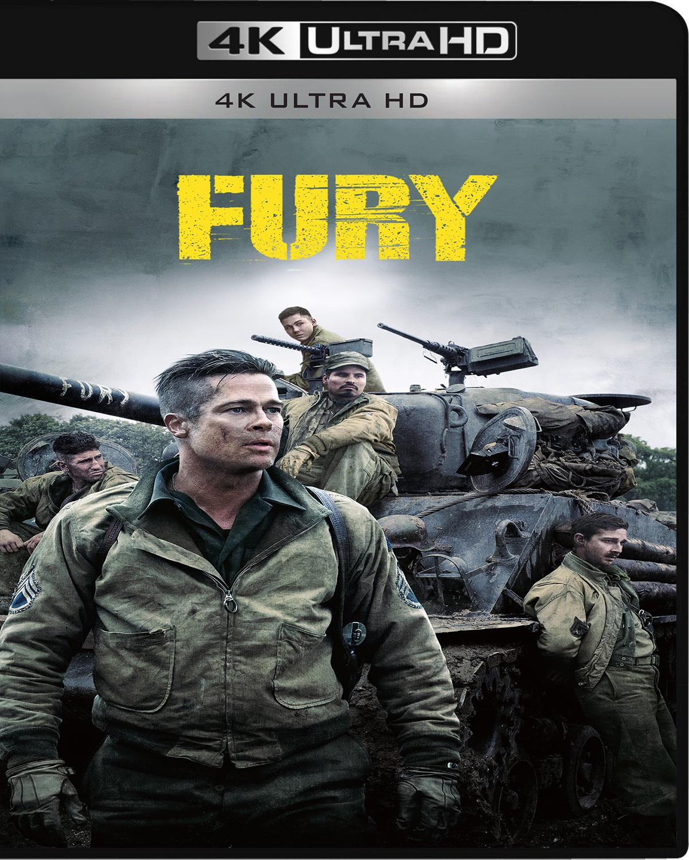 Fury [2014] [UHD] [2160p] [Latino – Castellano]