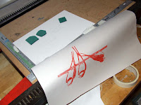 Take print of main linocut