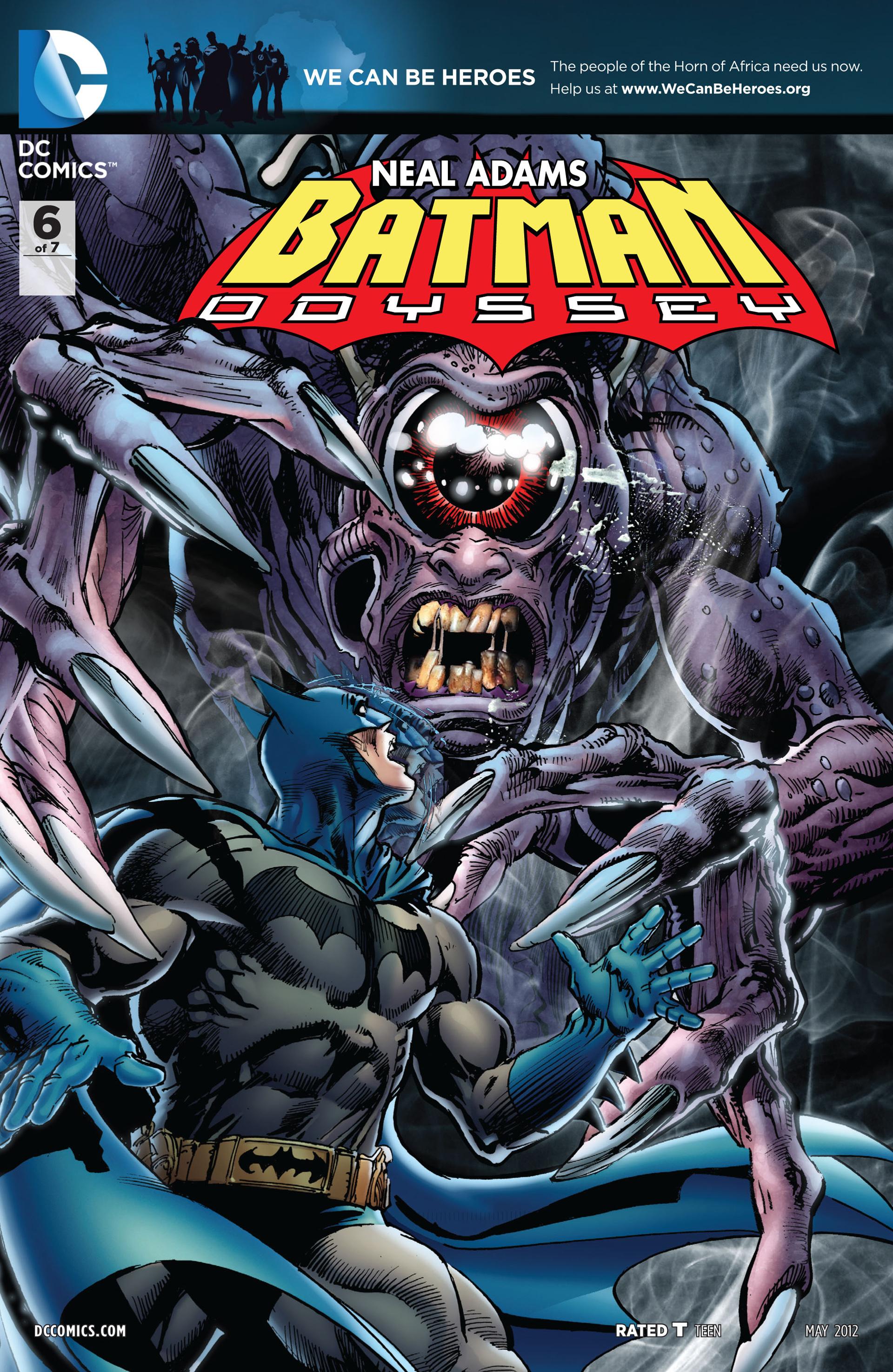 Batman: Odyssey (2011) 6 Page 1
