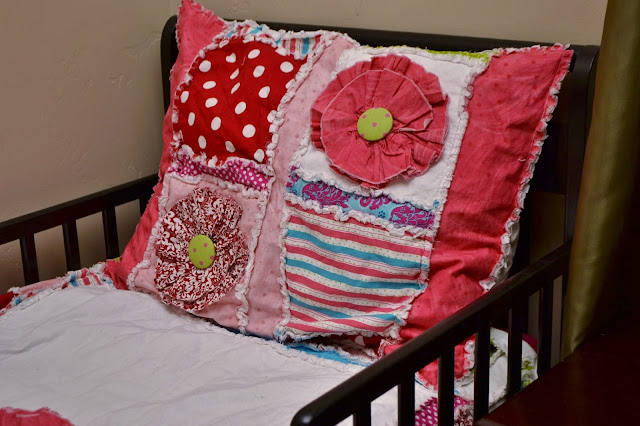 Rag Quilt Pillow Sham Pattern