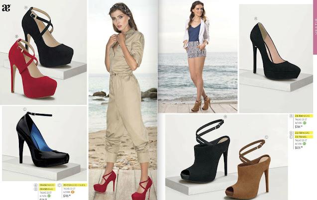 catalogo Andrea cerrado 2021 damas verano : zapatos