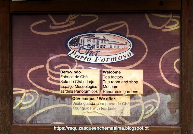 Porto Formoso chá