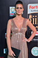 Lerisa Bonisa in a Sleeveless Deep neck Golden Gown ~  Exclusive 057.JPG