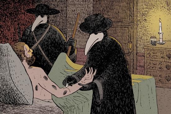 Arquivo Perdido: Os médicos da peste negra medieval