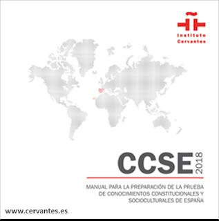Nuevo Manual de estudio Certificado CCSE para nacionalidad española por residencia.