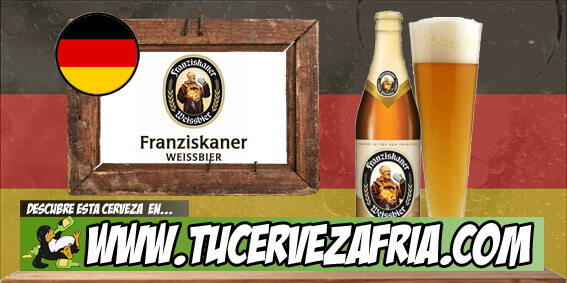 Cerveza FRANZISKANER WEISSBIER Naturtrüb