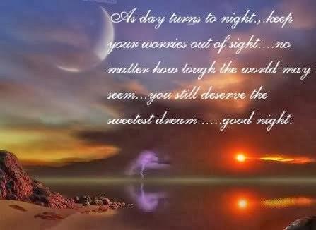 good night sms 2