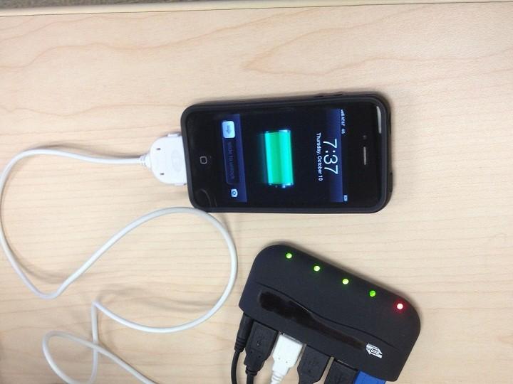 tips charging smartphone
