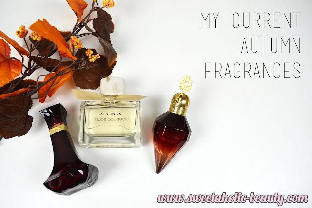 My Current Autumn Fragrances - Sweetaholic Beauty