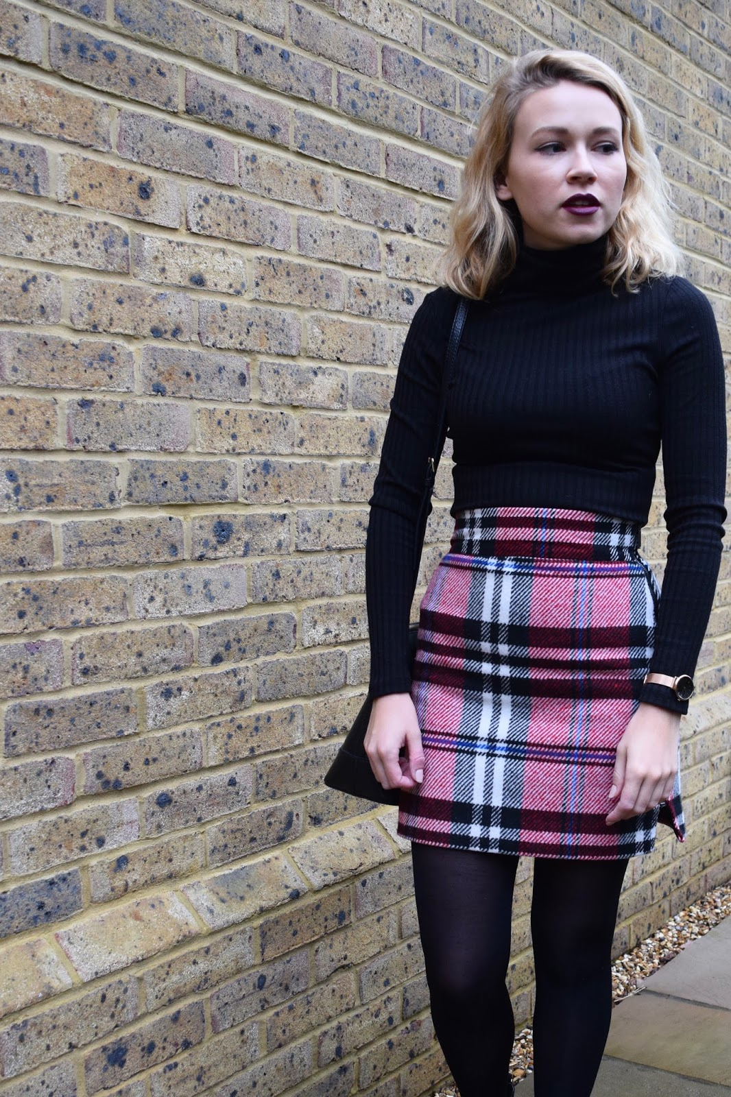 Tartan & Roll Necks: My Office #OOTD | A View from the Balcony - photo#47