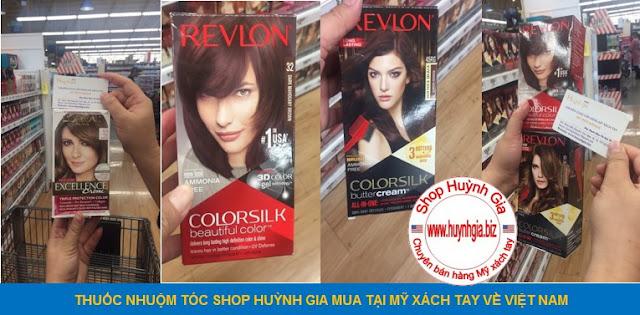 thuốc nhuộm tóc mỹ phẩm xách tay từ Mỹ www.huynhgia.biz