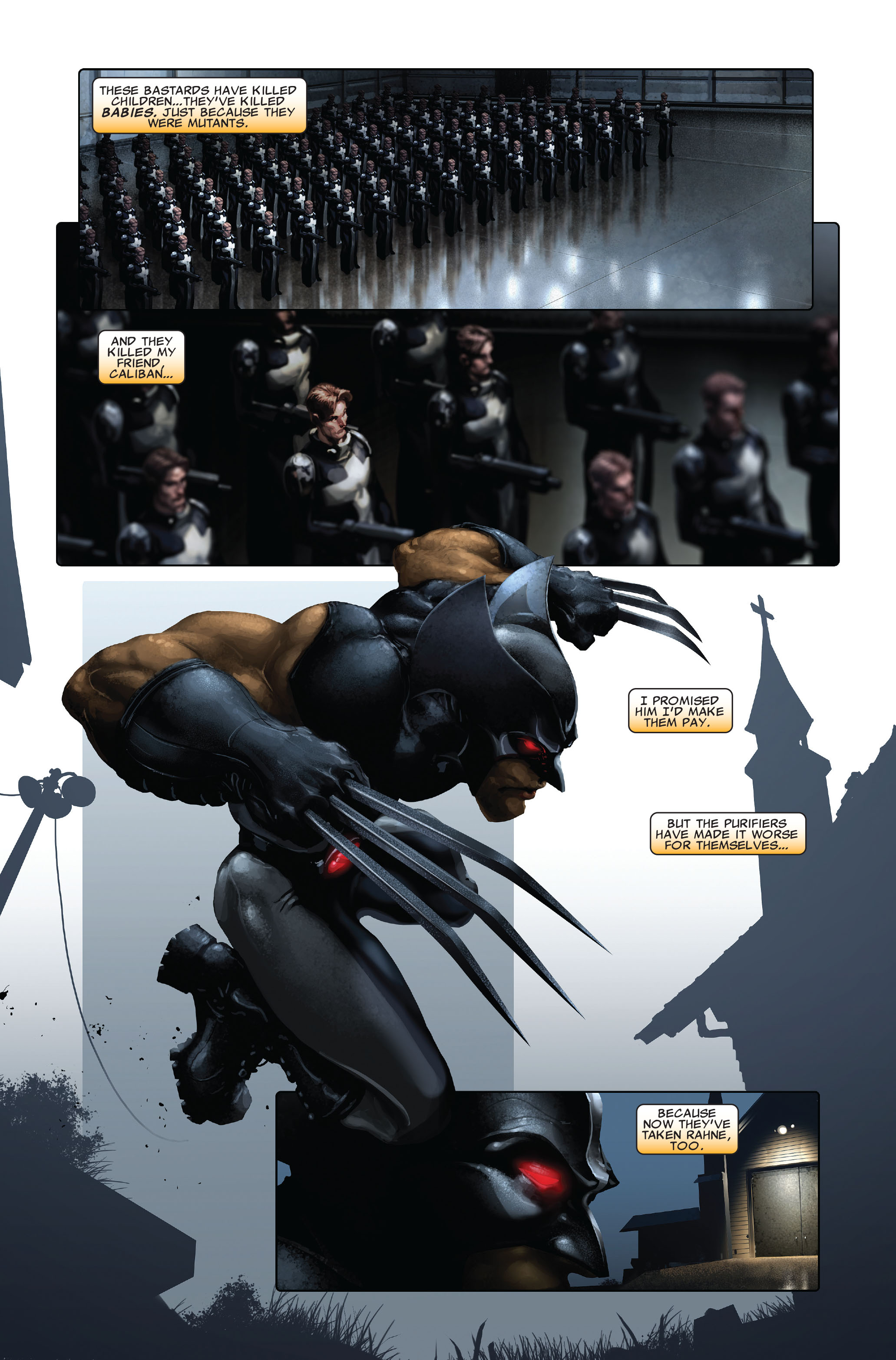 Read online X-Force (2008) comic -  Issue #3 - 9