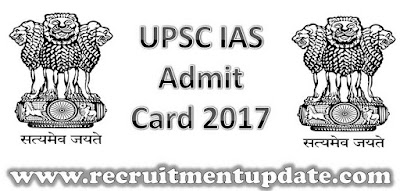 UPSC IAS Admit Card