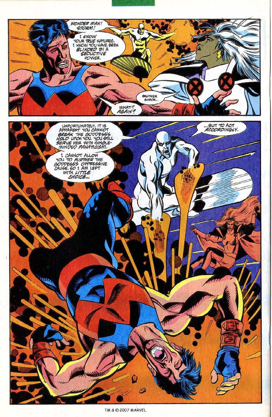 Read online Silver Surfer (1987) comic -  Issue #85 - 22