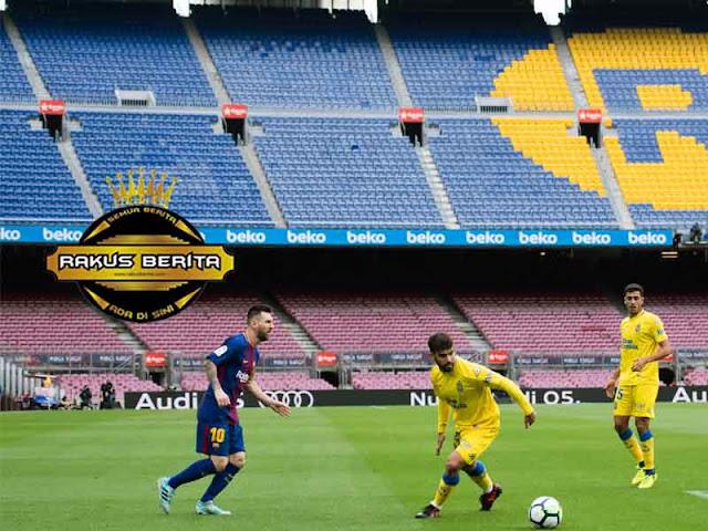Catalunya Bentrok ! Laga Barcelona Vs Las Palmas Digelar Tanpa Penonton