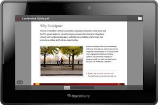 Tal como se anunció en nuestro artículo anterior, el nuevo firmware 2.0 para BlackBerry PlayBook revolucionará la tableta de RIM que hemos utilizado hasta ahora. Entre otras noticias echamos un vistazo a la función de impresión nueva ya que será capaz de imprimir nuestros documentos a través de Wi-Fi. La capacidad de imprimir mediante la conexión Wi-Fi, junto con el cliente de correo nativo, libreta de direcciones y calendario de libro de jugadas transforma la tableta en un portátil real. Estamos seguros de que con todas estas nuevas características, aumentará el uso del BlackBerry PlayBook, y así su difusión. Si