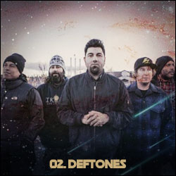 The 24 Greatest Bands In The World Right Now: 02. Deftones