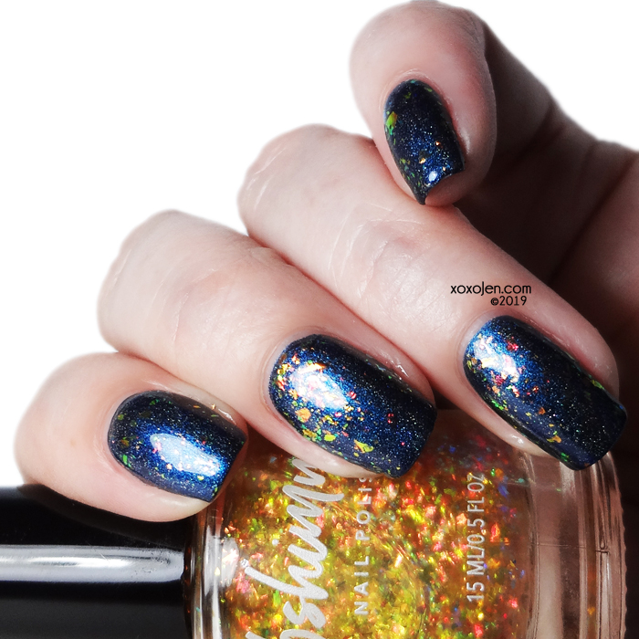 xoxoJen's swatch of kbshimmer Raking It In