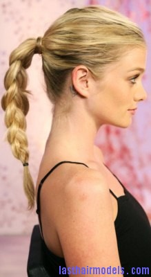 Magnificent Braid In A Ponytail Borbotta Com Short Hairstyles For Black Women Fulllsitofus