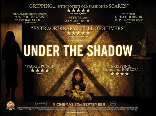 UNDER THE SHADOW - UK Home Entertainment release is set for January 23rd