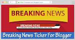 Cara Membuat Headline Breaking News Berjalan di Blog