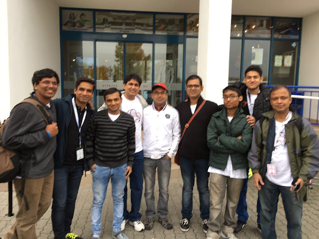 Indian Participants at World Sudoku Championship, Senec 2016