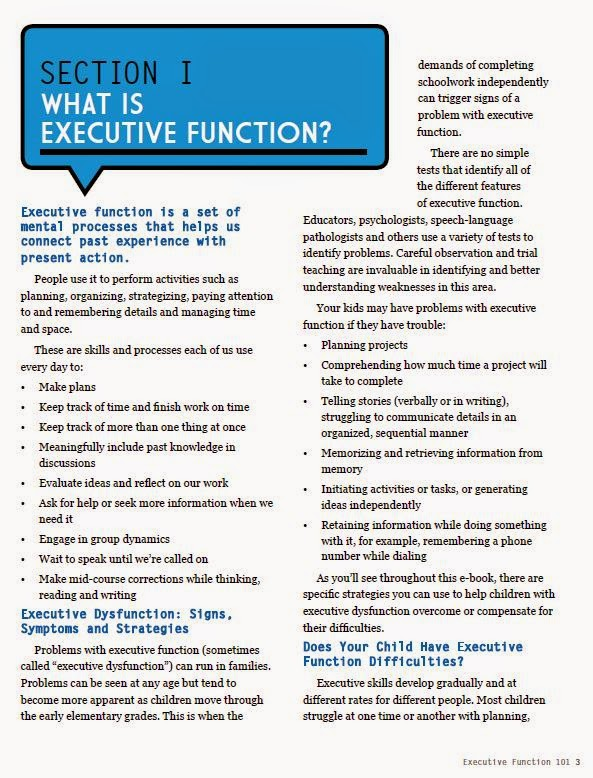 dysfunctional executive behavior How do problems with executive functioning affect kids use this comprehensive guide to understand executive function in children.