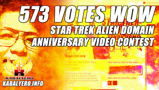 573 Votes WOW ★ Star Trek Alien Domain Anniversary Video Contest