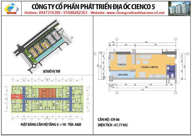 Sơ đồ thiết kế căn 06 chung cư B2.1 HH02A&B Thanh Hà Cienco 5