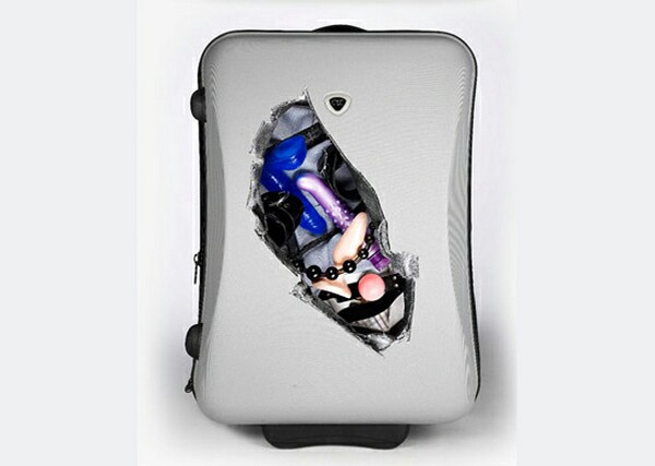 Funny and Creative Suitcase Stickers