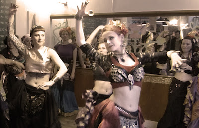 Danse tribale ATS Tribal Fusion Rennes Bretagne France