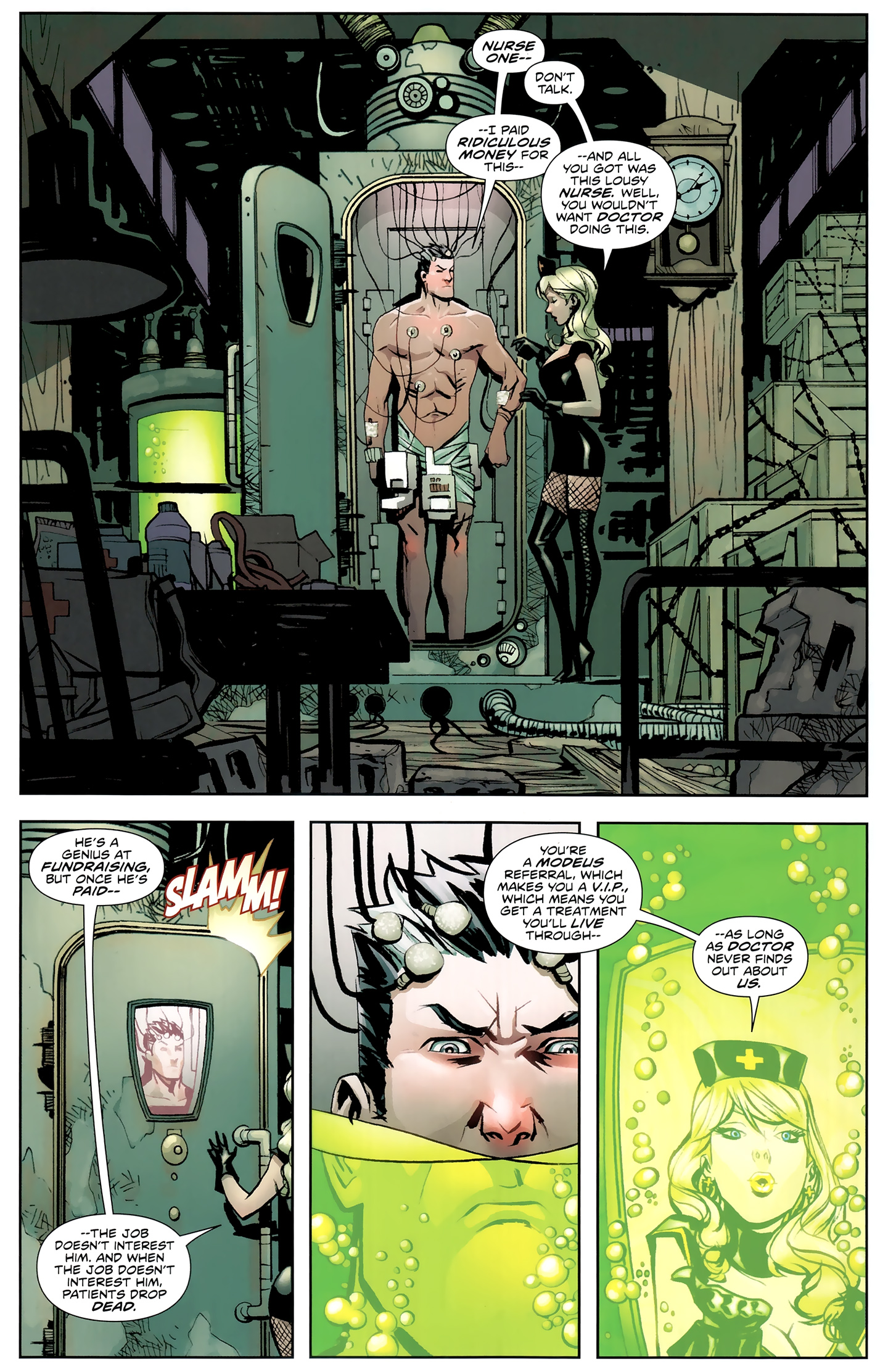 Read online Incorruptible comic -  Issue #26 - 6