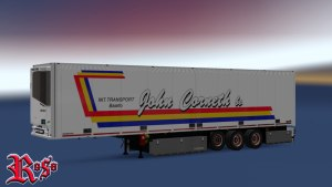 John Cornet Int. Transport Schmitz trailer