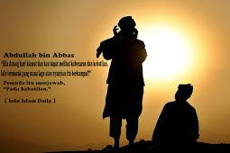 Ketika Ibnu Abbas Ditanya Tentang Hukum Nyanyian