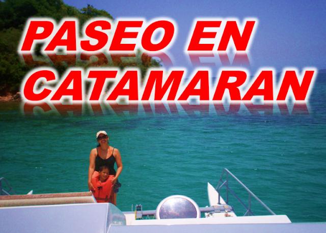 imagen paseo en catamaran mochima