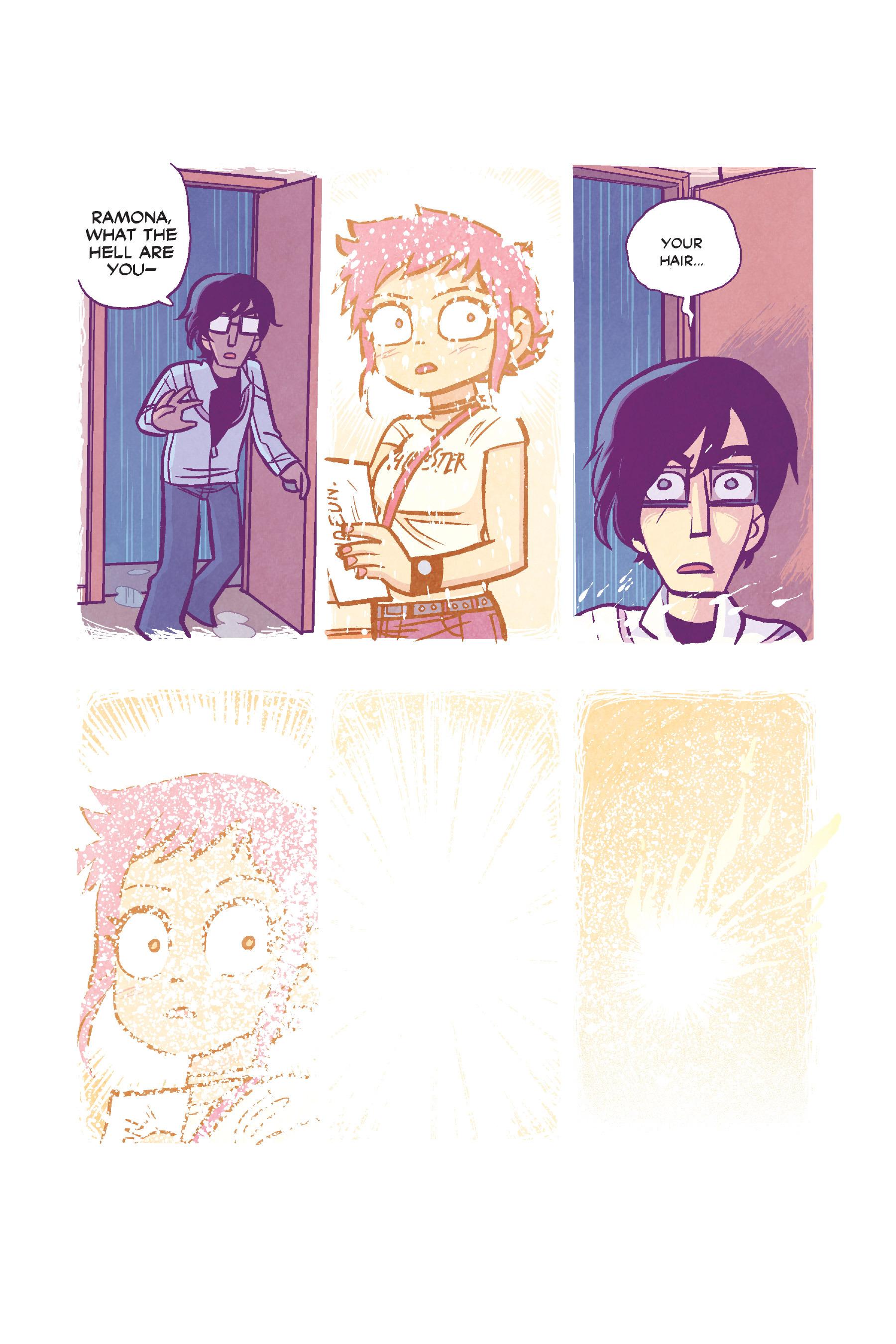 Read online Scott Pilgrim comic -  Issue #6 - 163