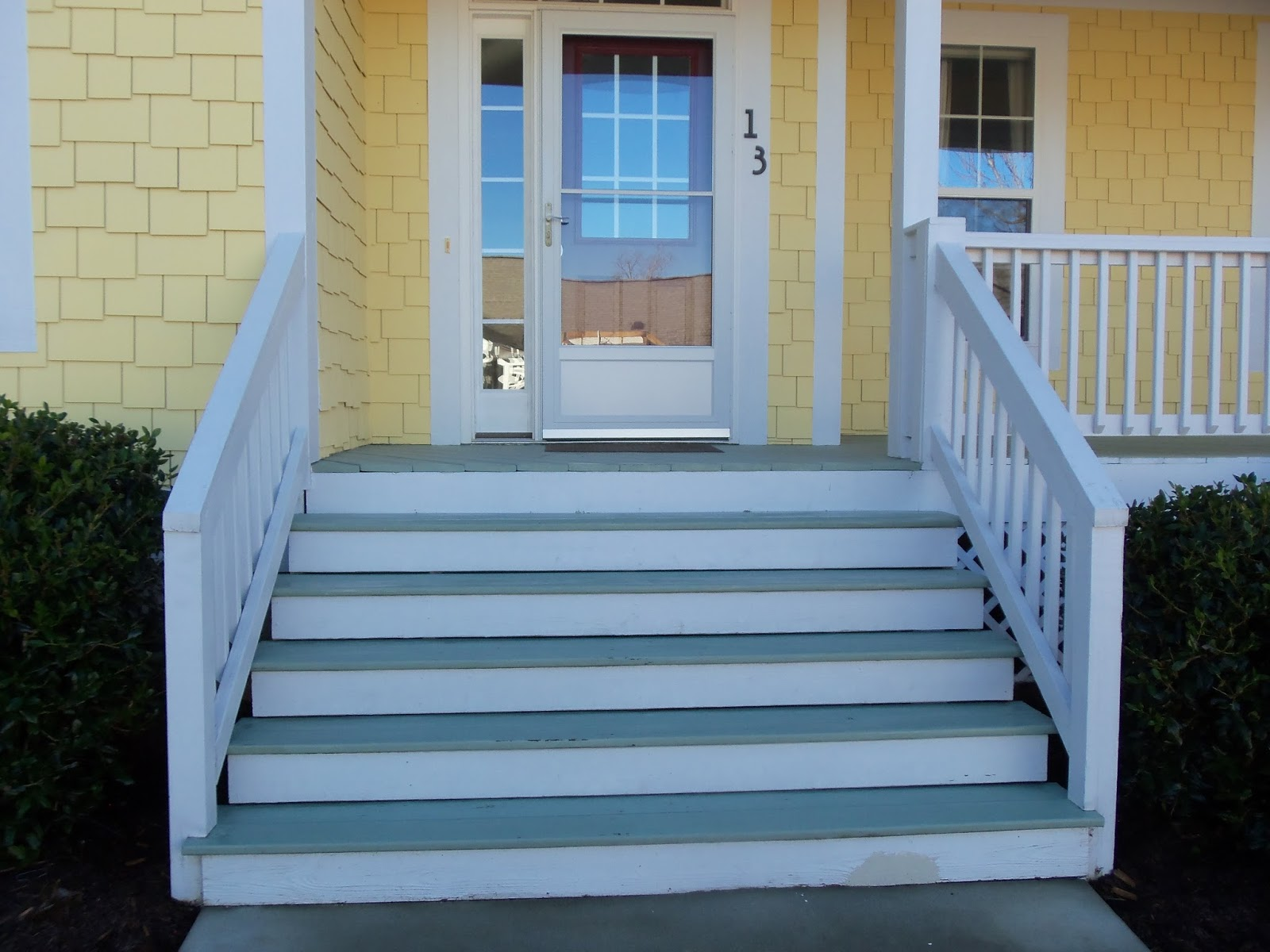 Sandy at sterling property services how to choose a paint for Exterior stairs
